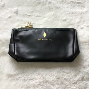 Amore Pacific Black Cosmetic Bag